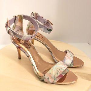 6bdbb00ba Ted Baker London Blynne Floral Ankle Strap Heels